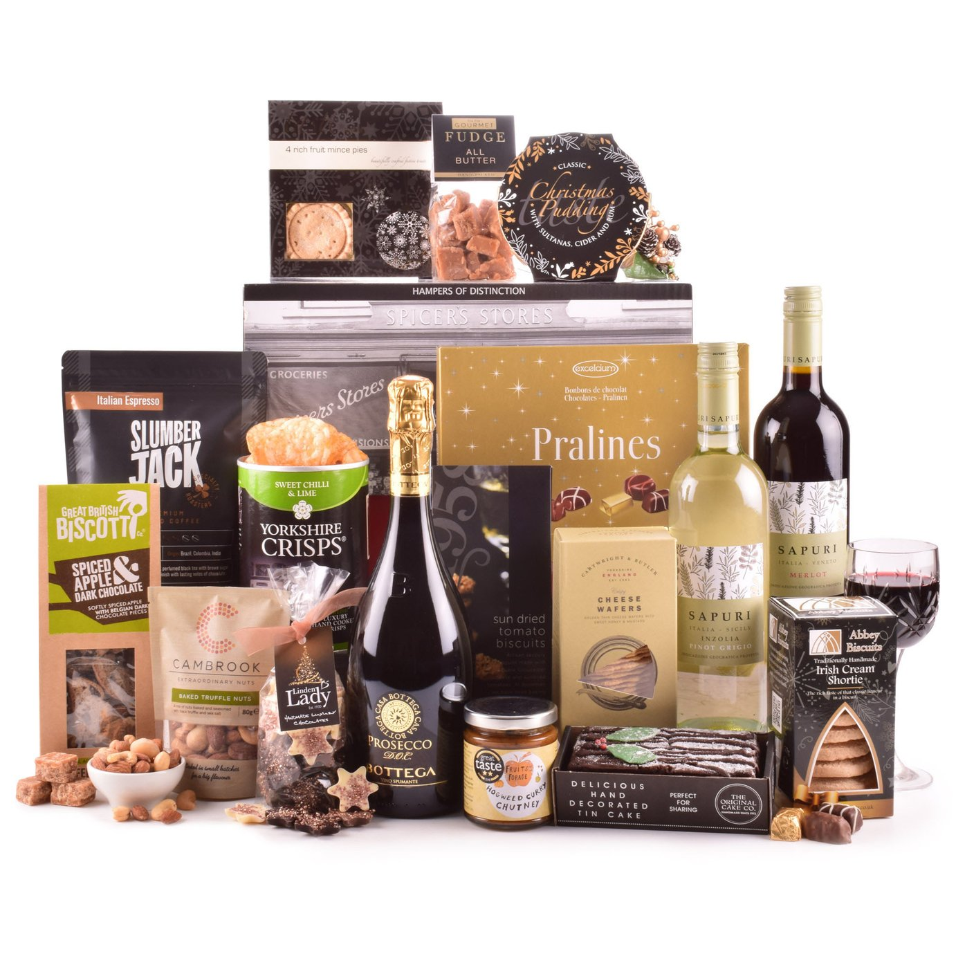 Hampers of Distinction The Christmas Eve Gift Box