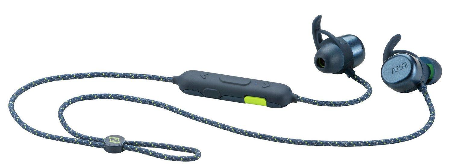 AKG N200A In - Ear Wireless Headphones - Blue