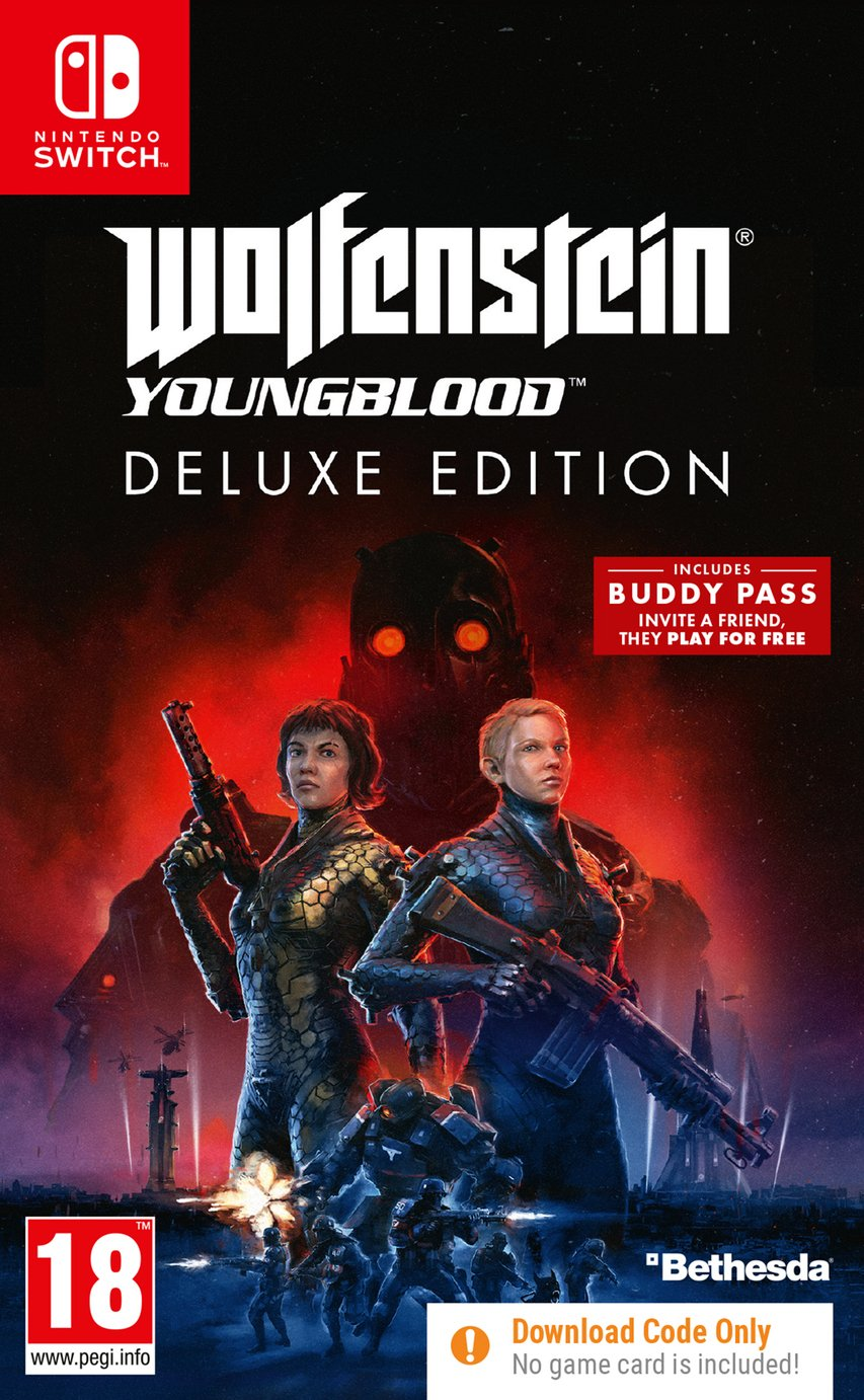Wolfenstein Youngblood Deluxe Edition Nintendo Switch Game