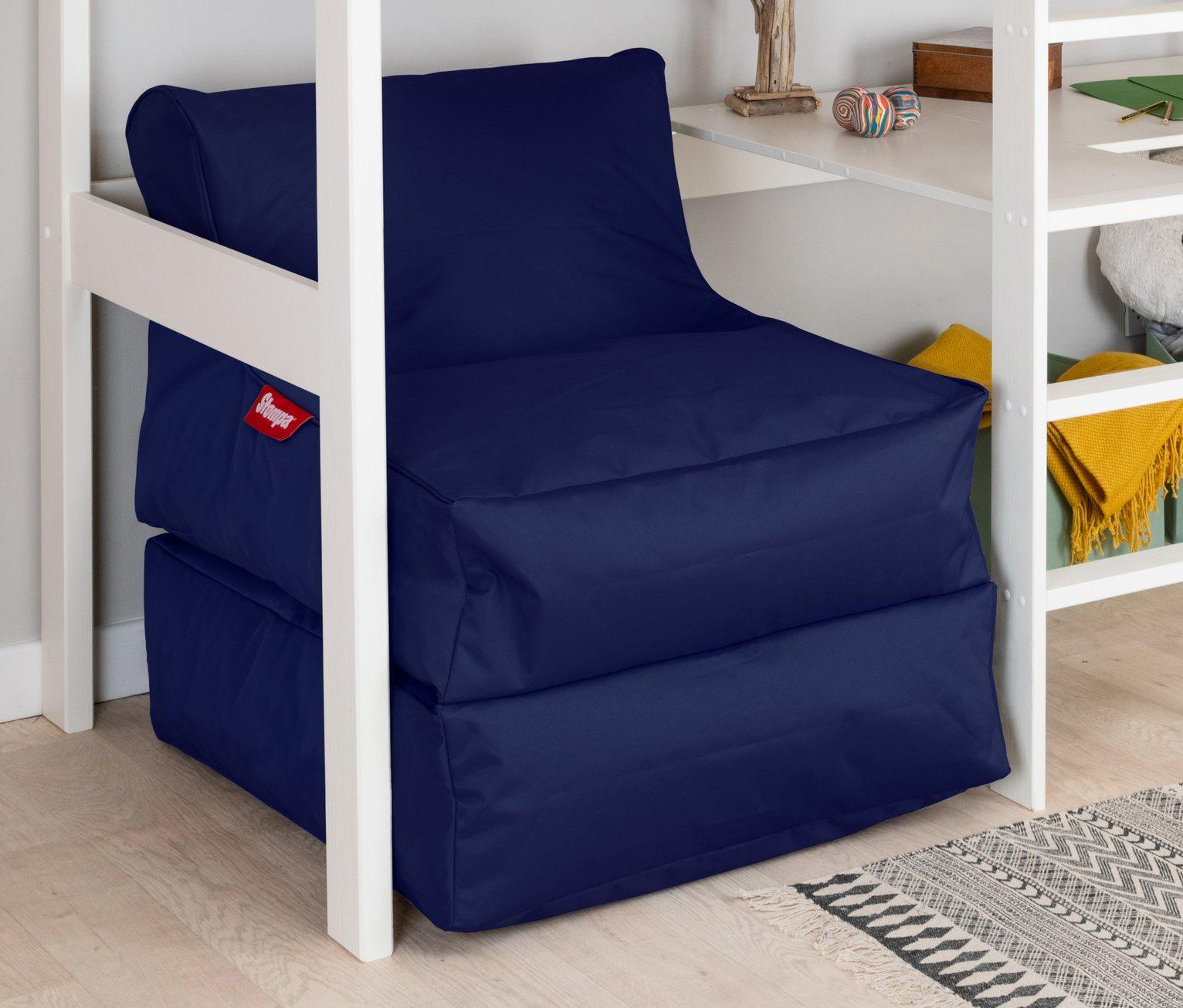 Stompa XL Flexi Sleep Lounger Beanbag - Navy