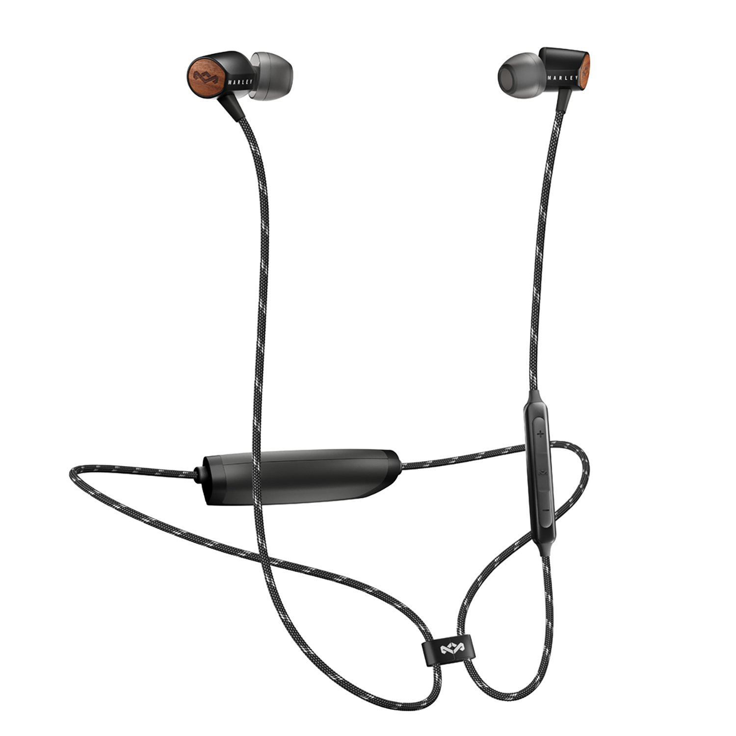 Marley Uplift 2 In-Ear Wireless Headphones - Black