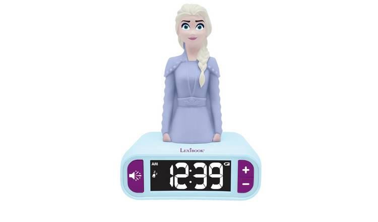 Lexibook Disney Frozen 2 Night Light Alarm Clock