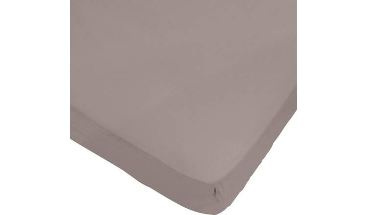 0fb6ae0b85e4a6 Buy Argos Home Cafe Mocha Fitted Sheet - Double