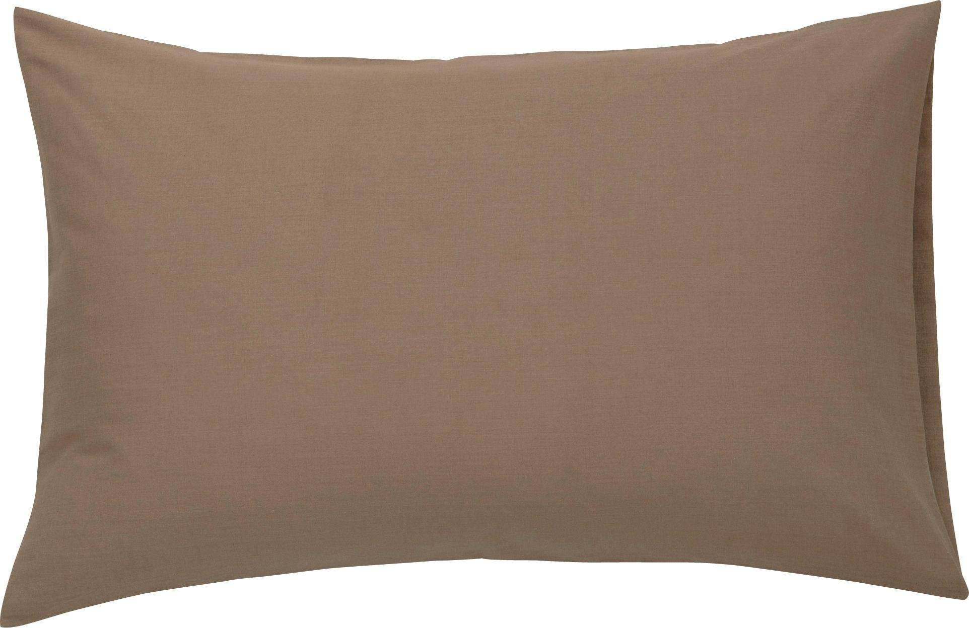 ColourMatch - Cafe Mocha Housewife Pillowcase - 2 Pack