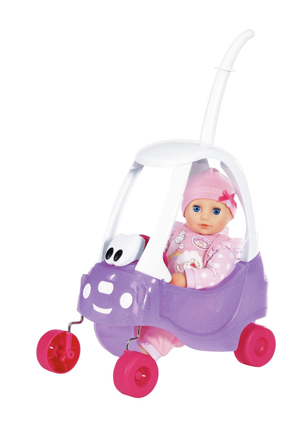 Baby Annabell Doll and Cozy Coupe