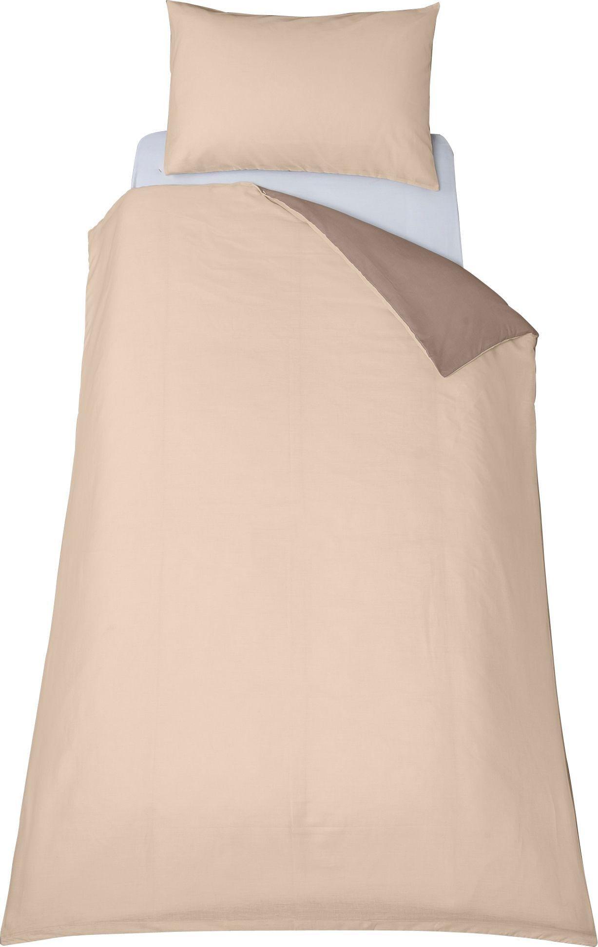 colourmatch  cafe mocha/cotton cream  bedding set  single