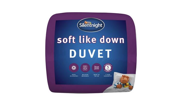 Silentnight Soft Like Down 10.5 Tog Duvet - Double