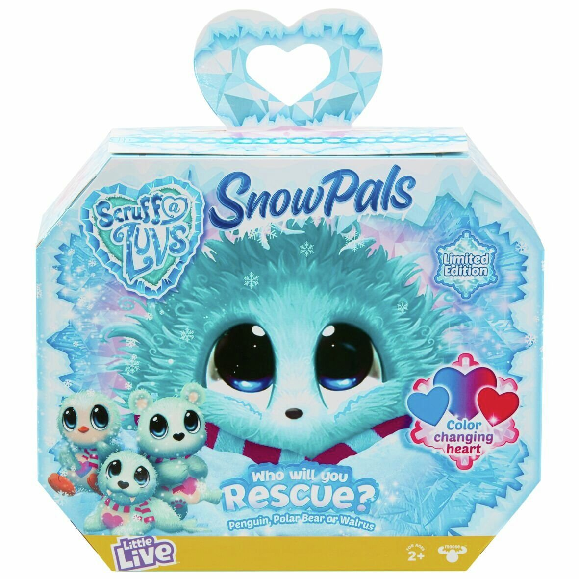 Scruff a Luvs Rescue Pet Surprise Soft Toy - Snow Pals
