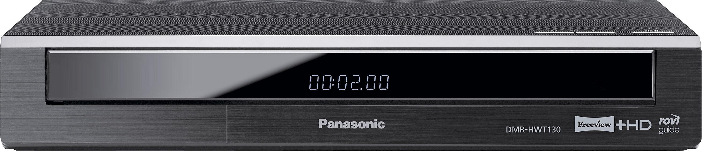 Panasonic - DMR-HWT130 500GB Freeview+ HD Smart TV Recorder - Black