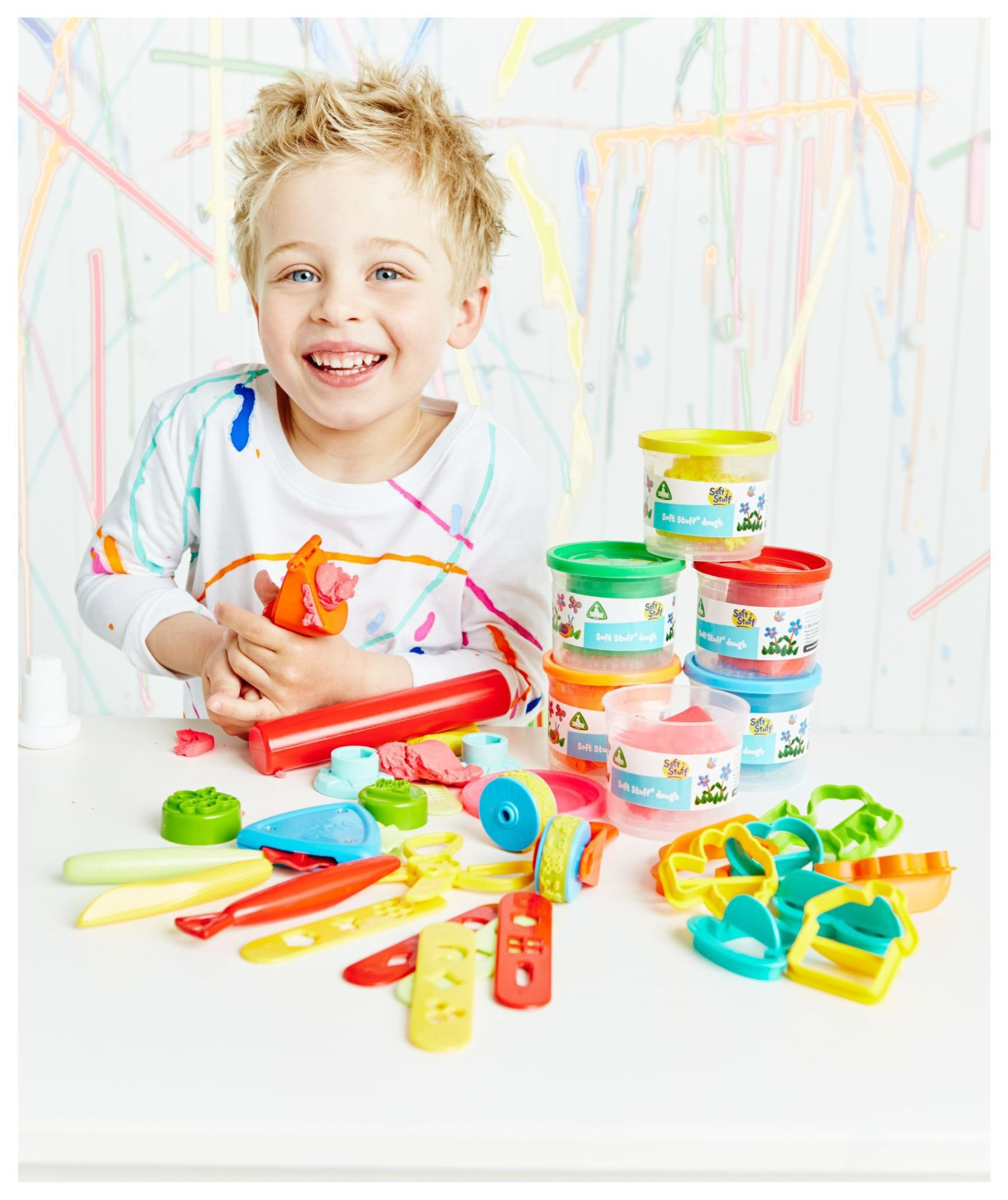 Image of Early Learning Centre - Soft Stuff Bumper Tool and Dough Set