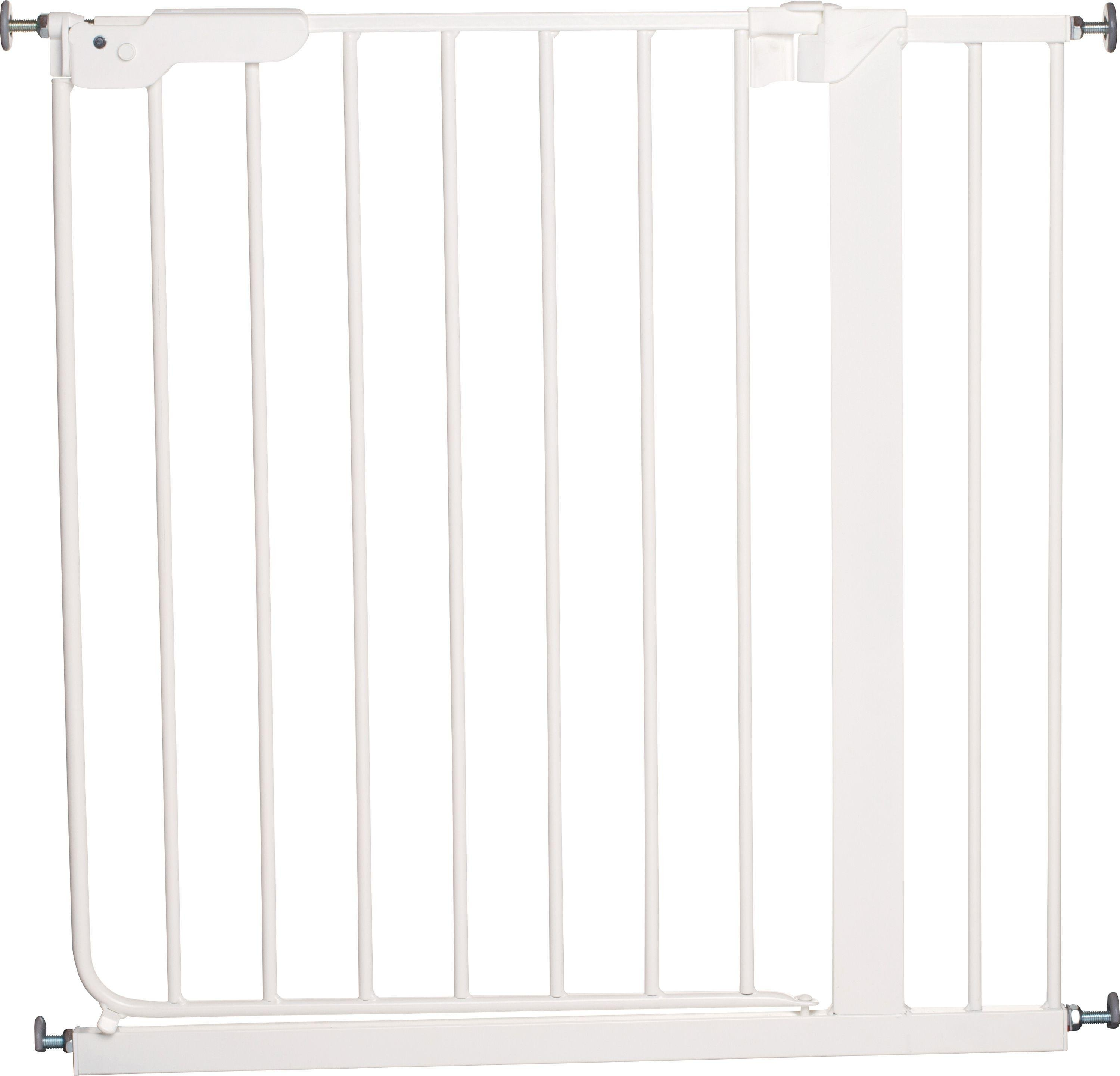 Image of BabyDan Danamic Pressure Fit Safety Gate - White.