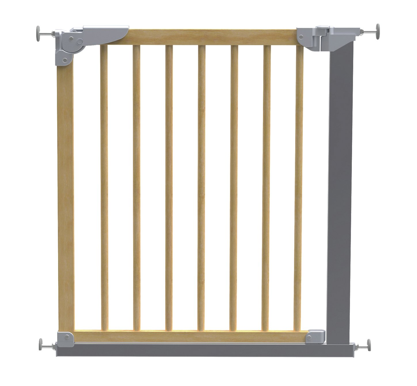 BabyDan Designer Pressure Fit Safety Gate - Beech