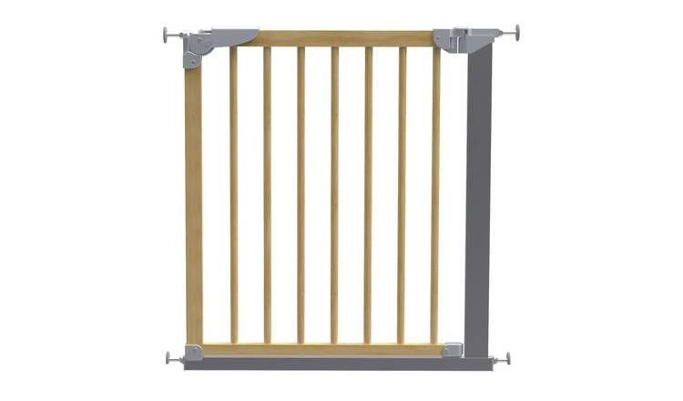 BabyDan Designer Wood Pressure Fit Safety Gate - Beech