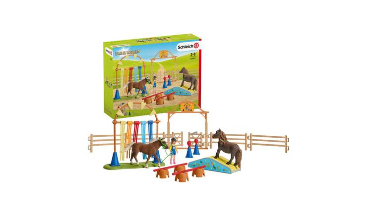 Schleich Pony Agility Training - 42481