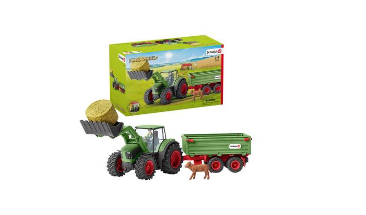 Schleich Tractor with Trailer - 42379