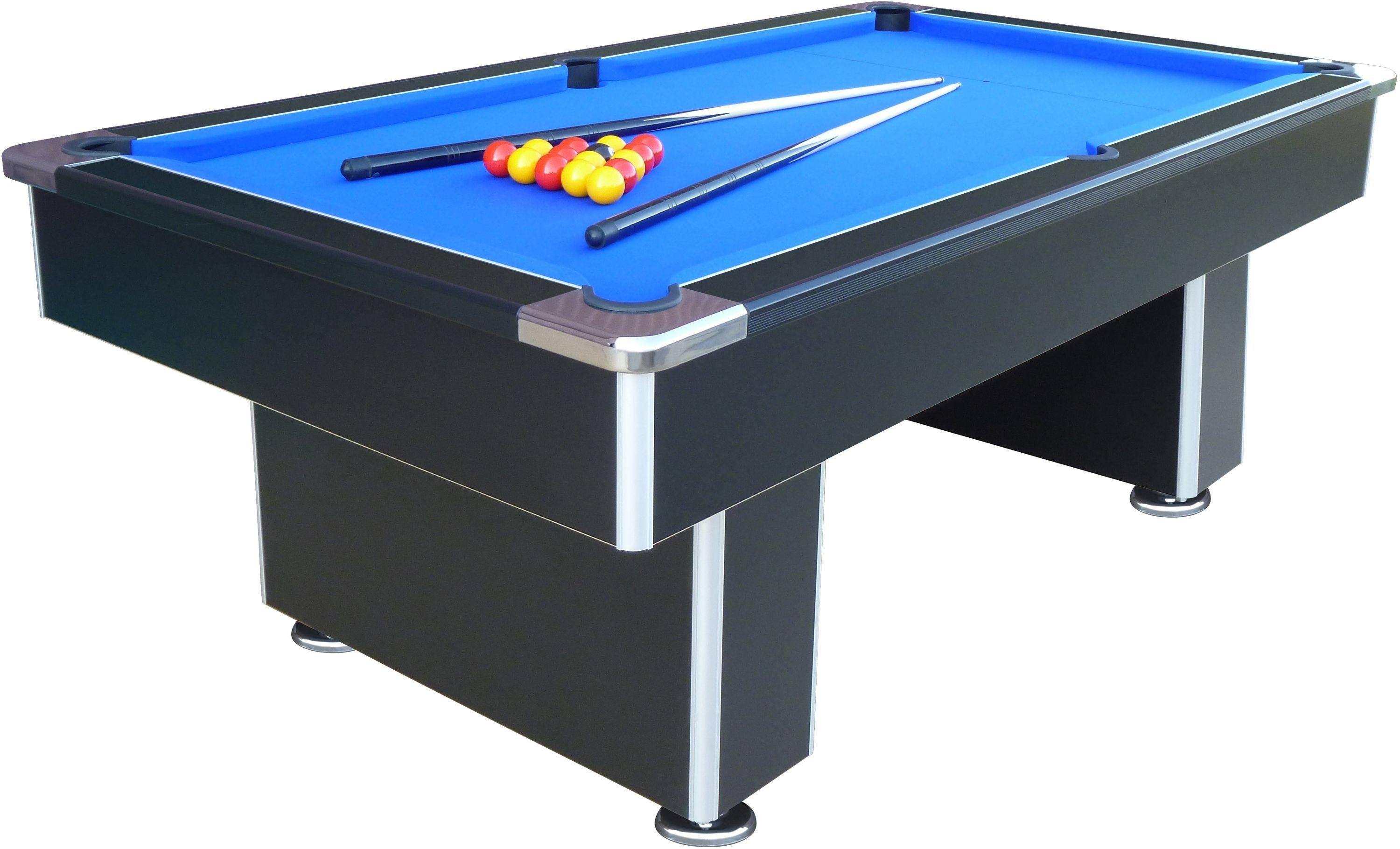 mightymast speedster 7ft slate bed pool table black - Slate Pool Table