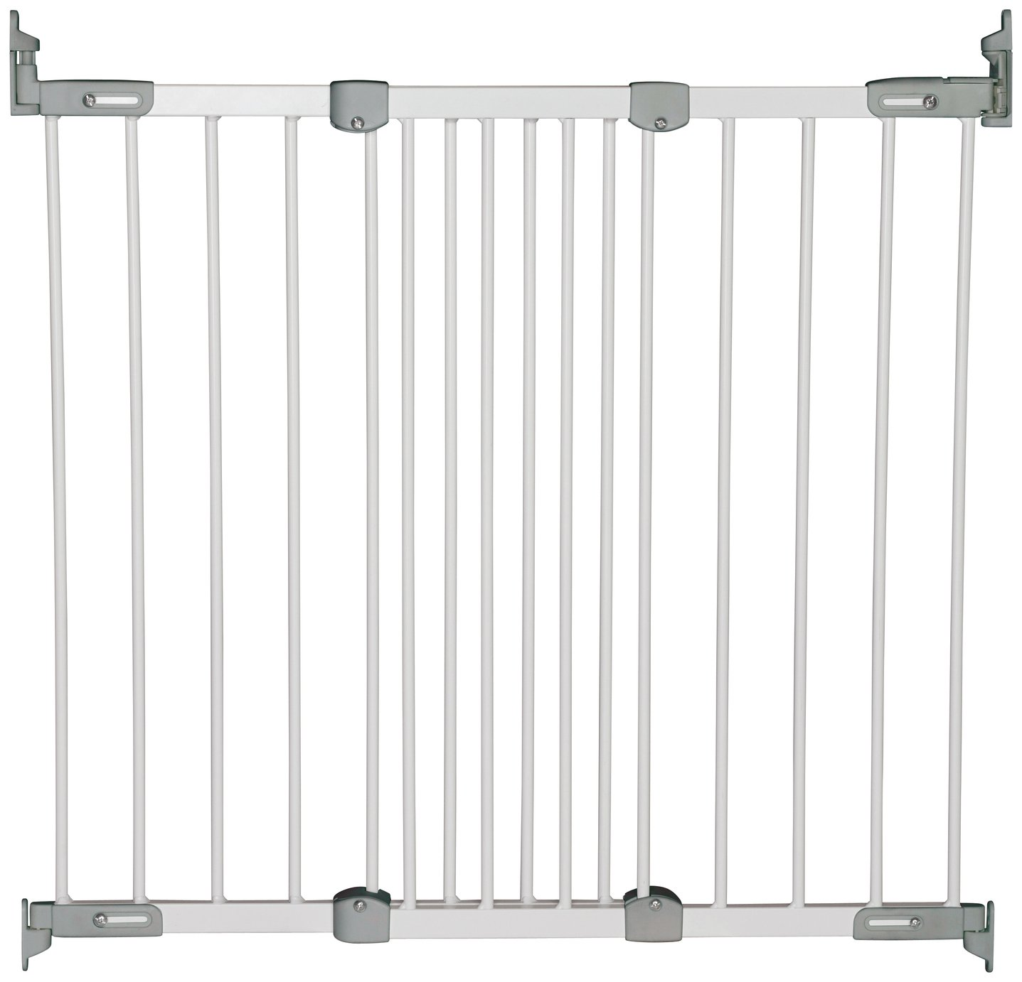 BabyDan Super Flexi Fit Safety Gate - White