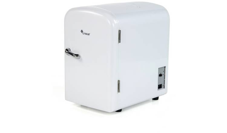 4 Litre White Mini Travel Fridge