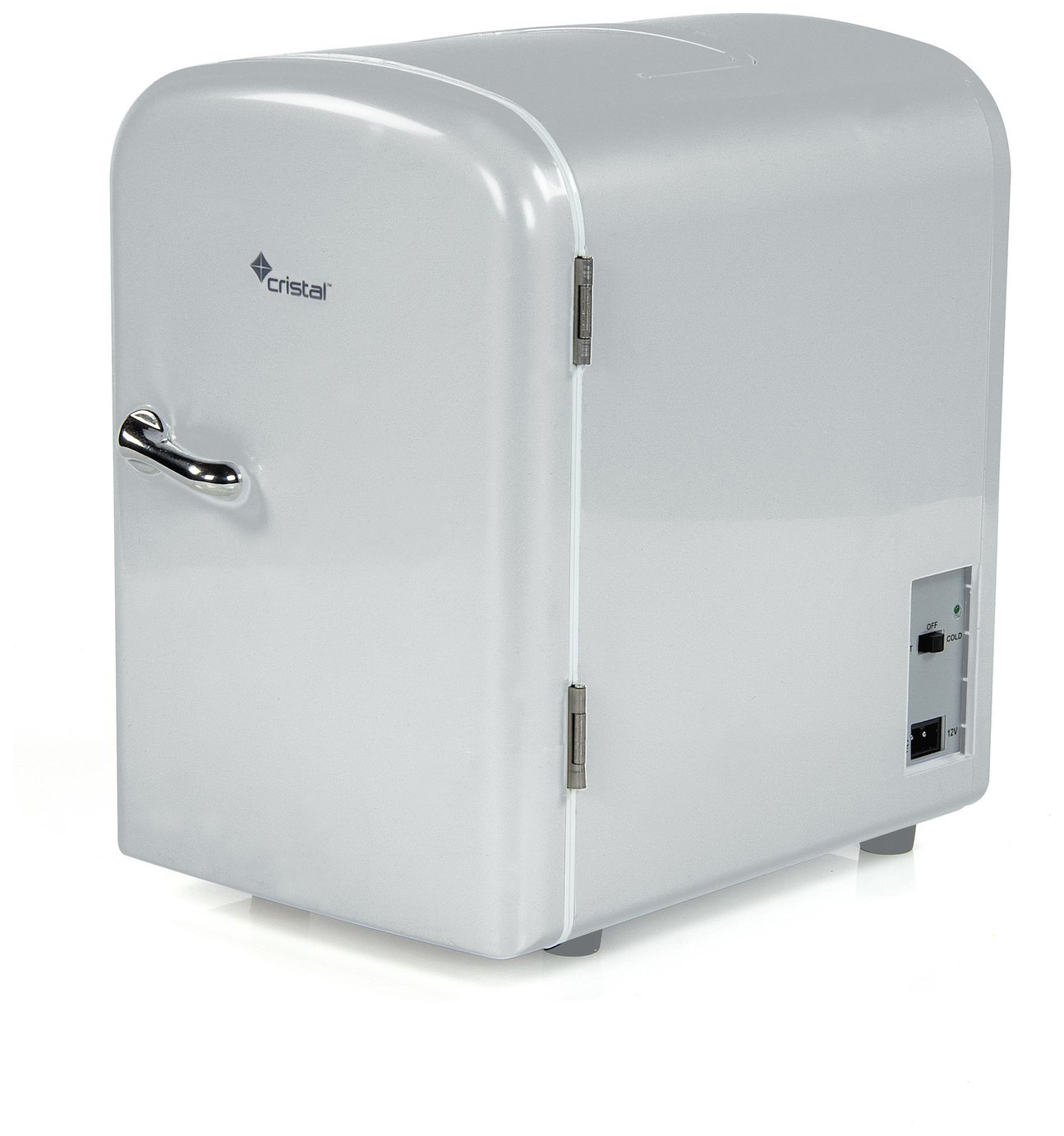4 Litre Grey Mini Travel Fridge