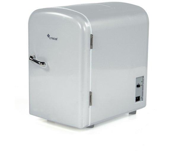 Buy 4 Litre Grey Mini Travel Fridge Mini Fridges Argos