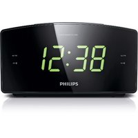 Philips AJ3400/05 Jumbo Display Alarm Clock Radio (Black)