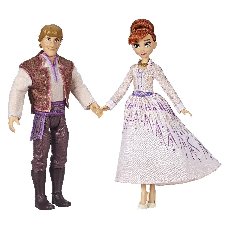 Disney Frozen 2 Anna and Kristoff Fashion Dolls 2 - Pack