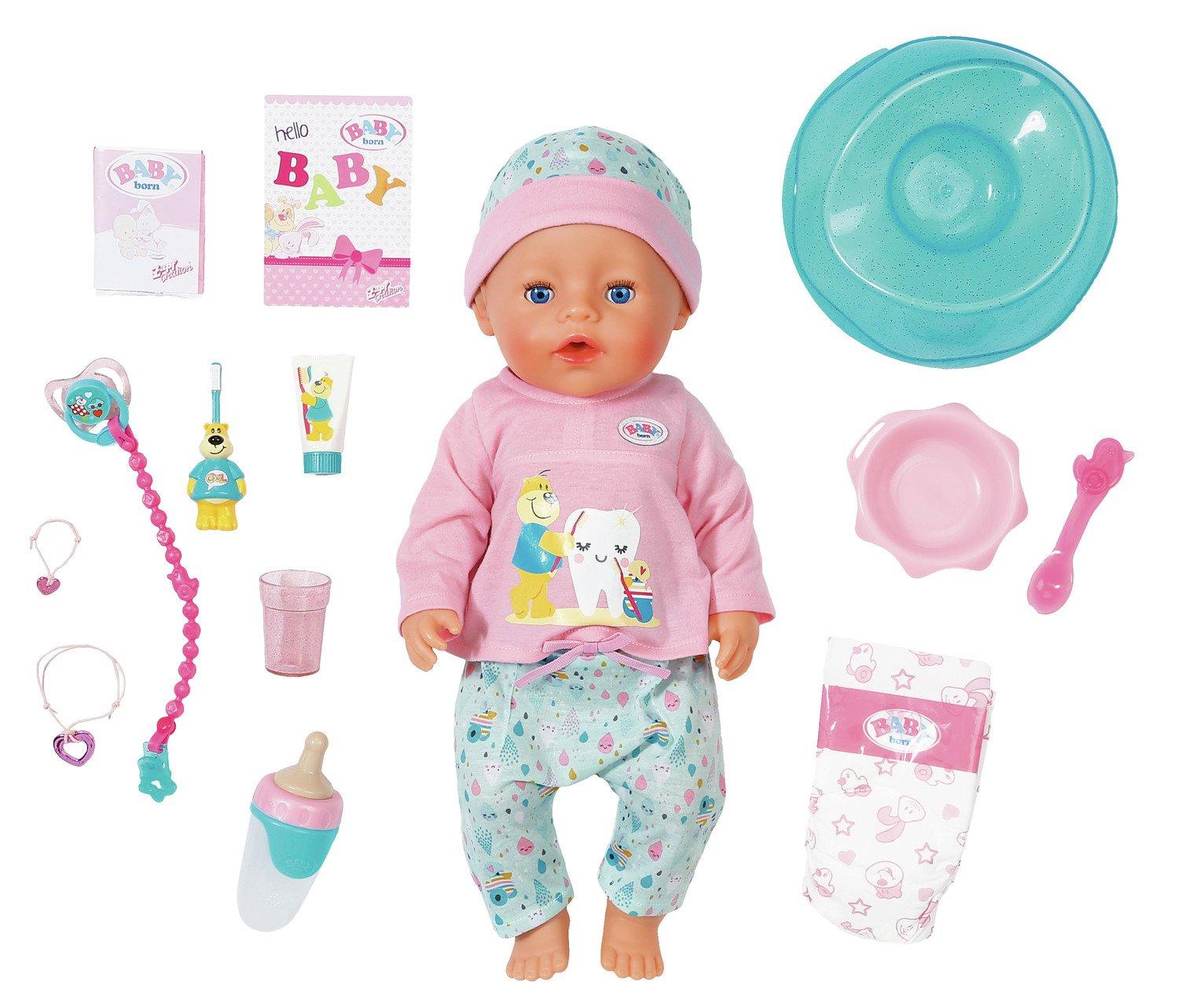 BABY born Bath Soft Touch Girl