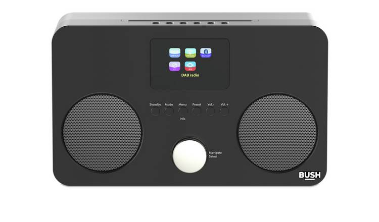 Bush All-In-One CD Micro System - Black
