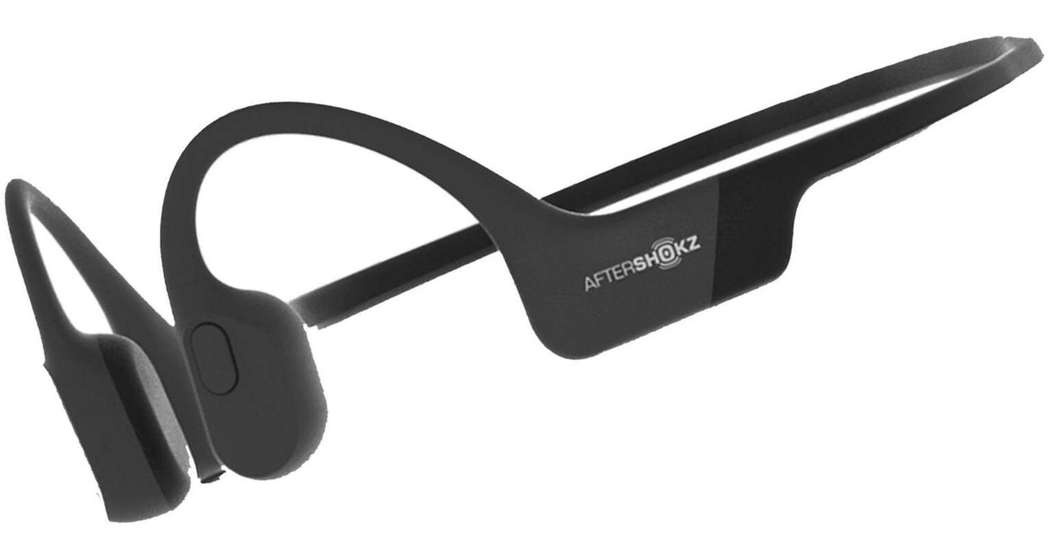 AfterShokz Aeropex Wireless Bone Conduction Headphones-Black