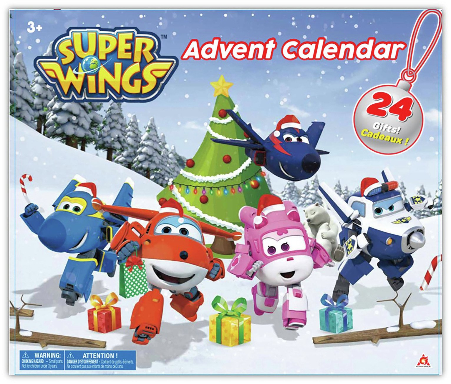 Super Wings Advent Calendar