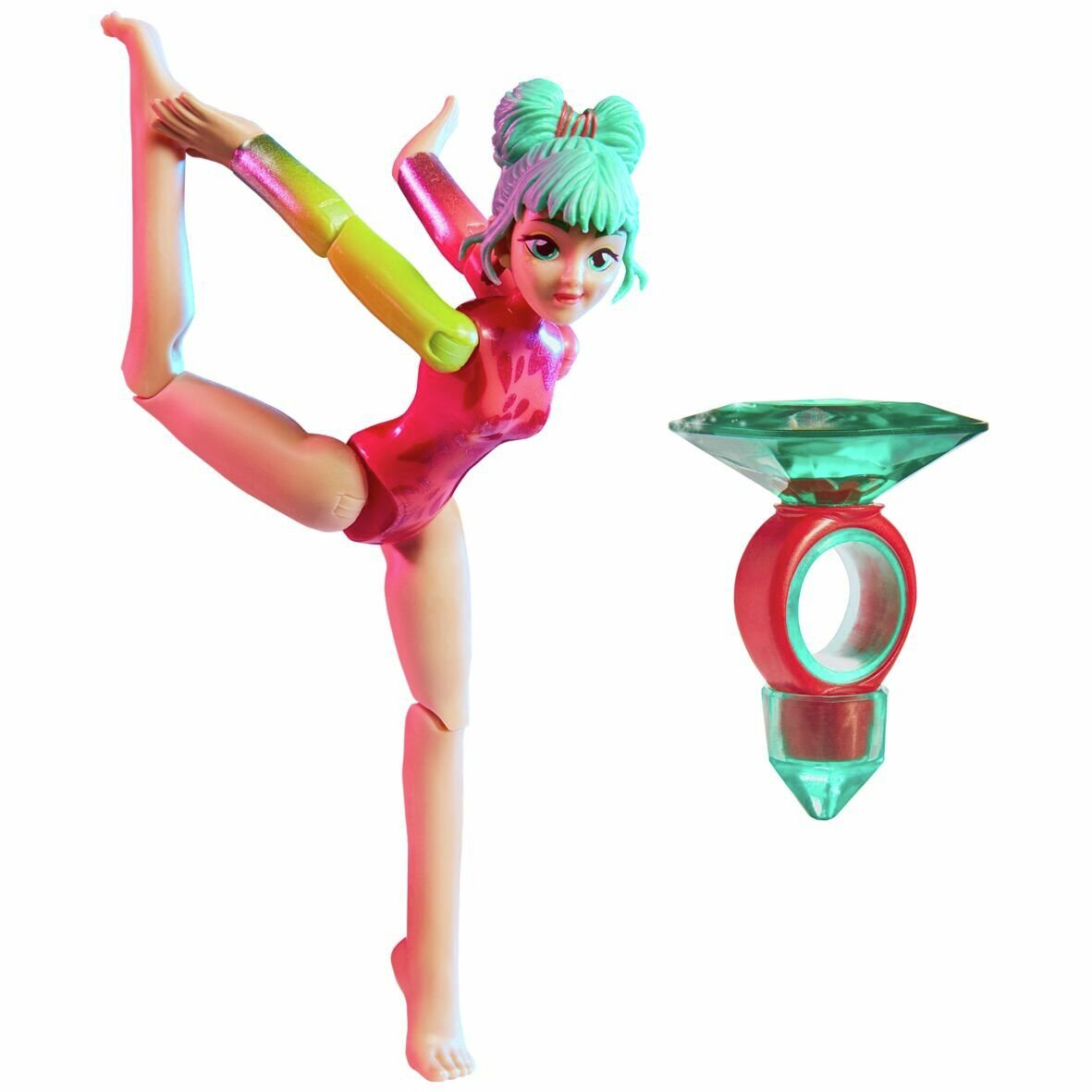 Team GEM Magic Balance Gymnast Doll Jade