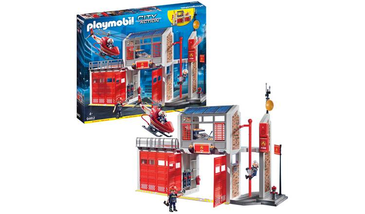 Playmobil 9462 City Life Fire Station