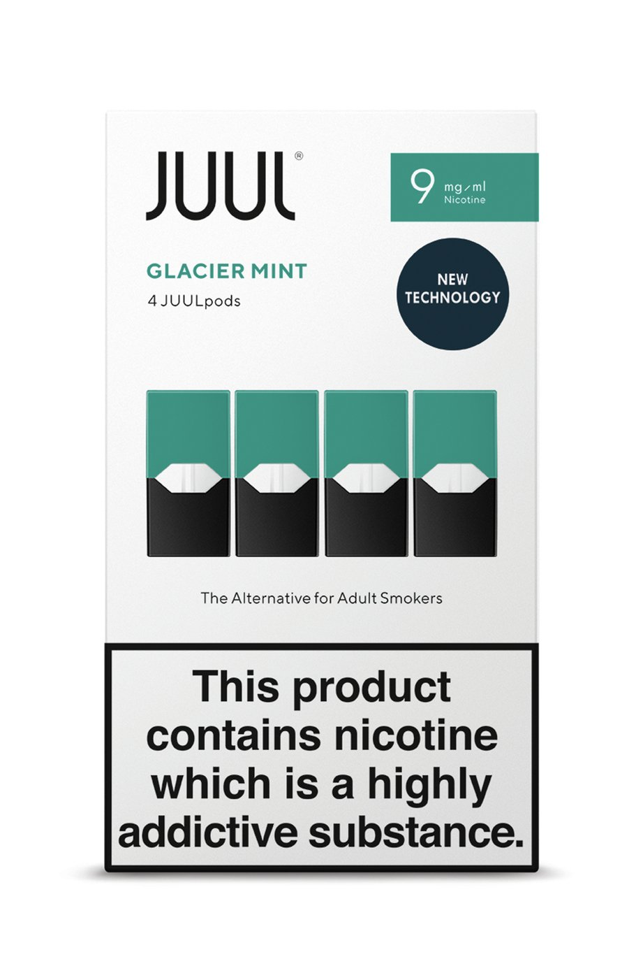 JUUL Glacier Mint PODS 9mg