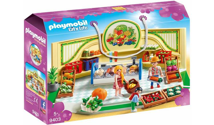 Playmobil 9403 City Life Grocery Shop