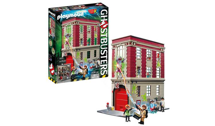 Playmobil 9219 Ghostbusters Fire HQ