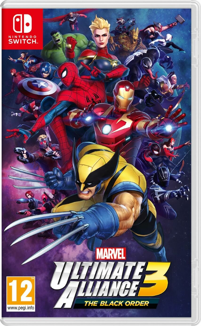 Marvel Ultimate Alliance 3 Nintendo Switch Game