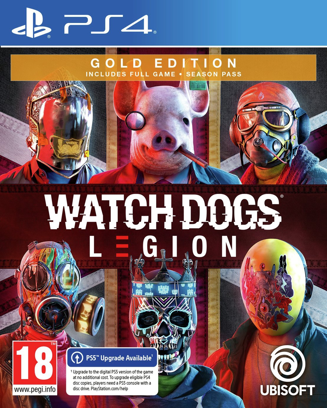 Watch Dogs Legion Gold Edition PS4 Pre-Order Game