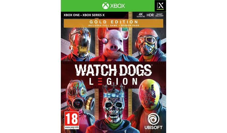 Watch Dogs Legion Gold Edition Xbox One Pre-Order Game