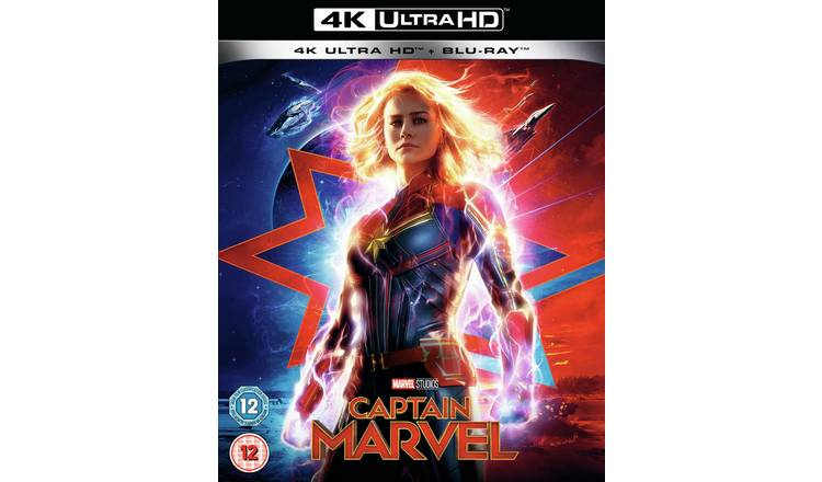 Captain Marvel 4K UHD Blu-Ray