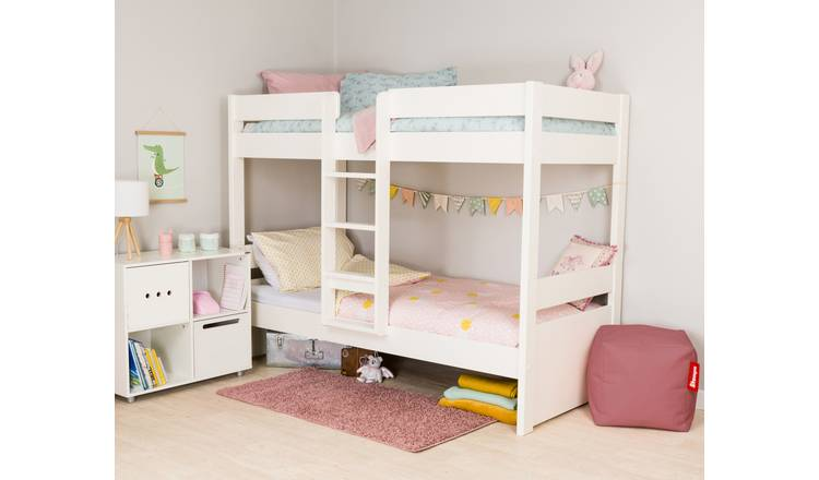 Stompa Bunk Bed Frame - White