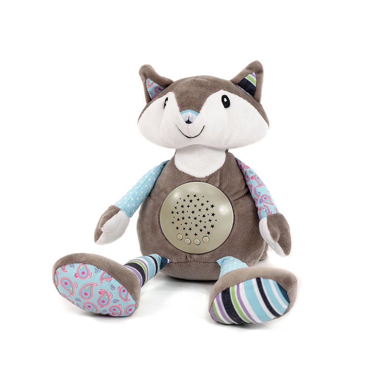 Nuby Little Fox Night Light Projector Sleep Aid
