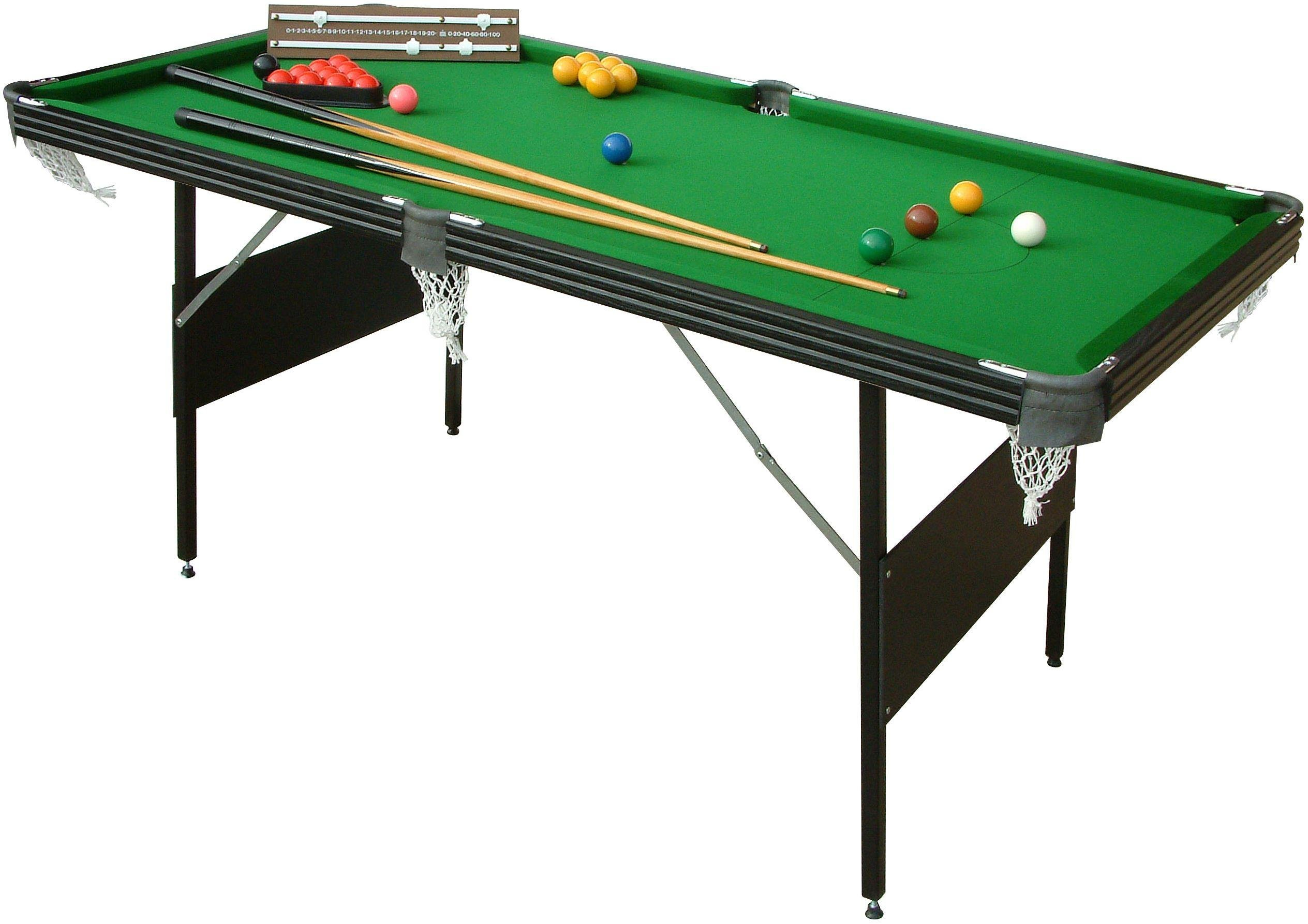 Mightymast Crucible 6ft Foldup Snooker/Pool Table.