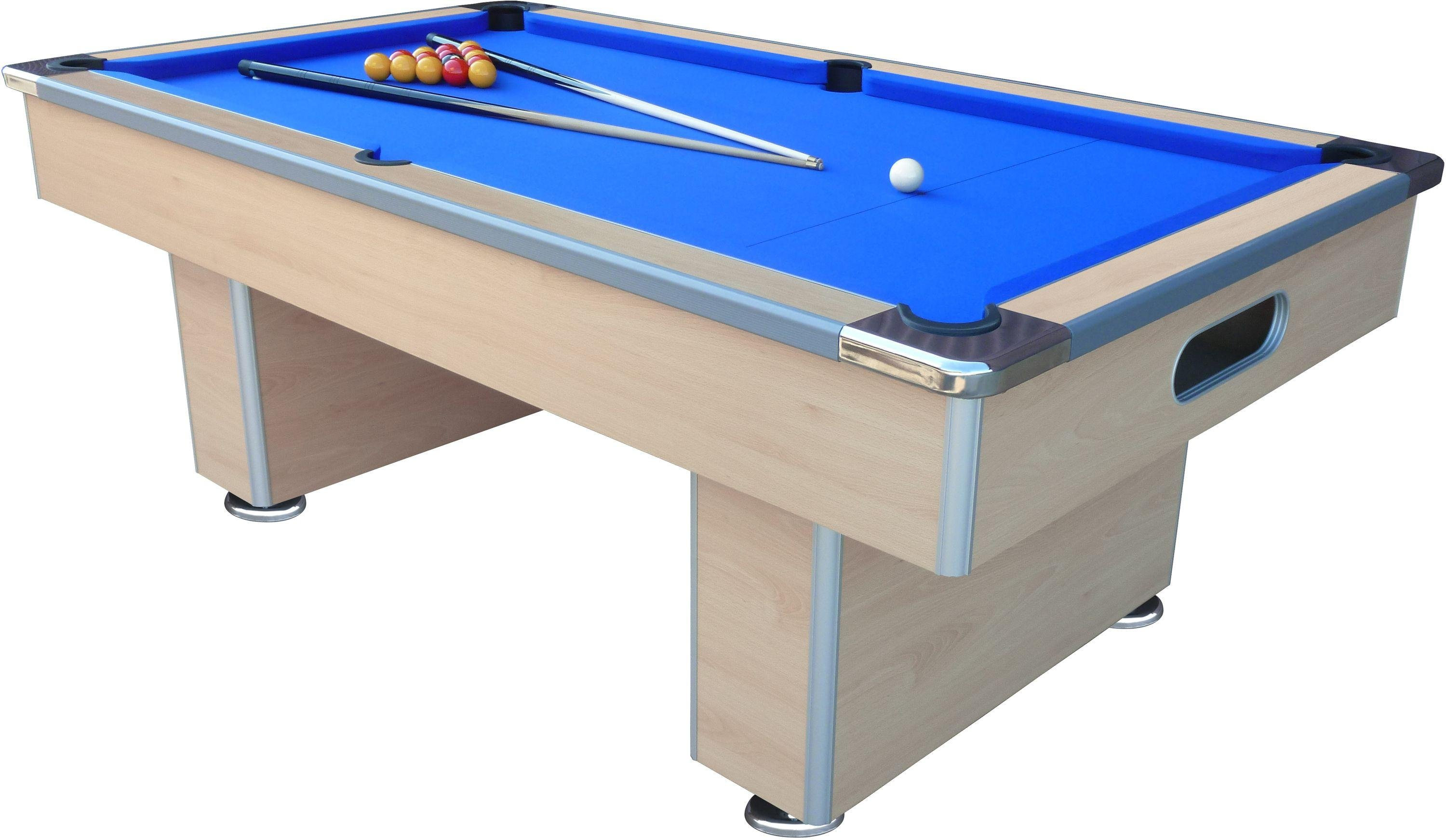 mightymast speedster 7ft slate bed pool table beech - Slate Pool Table
