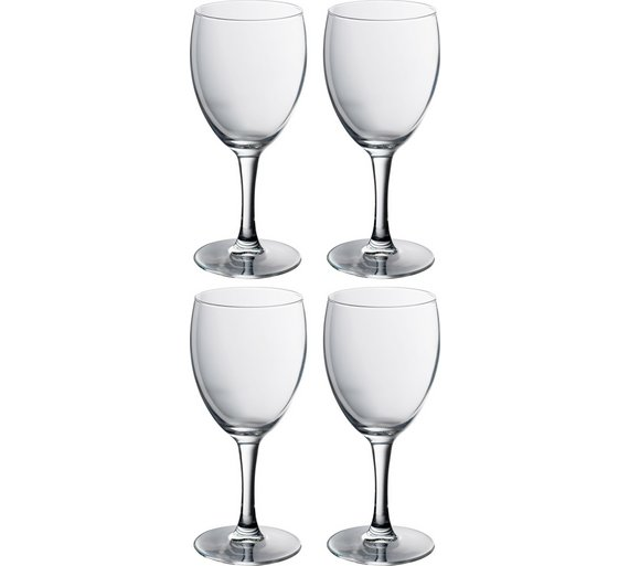 buy 4 piece wine glass set at your online. Black Bedroom Furniture Sets. Home Design Ideas
