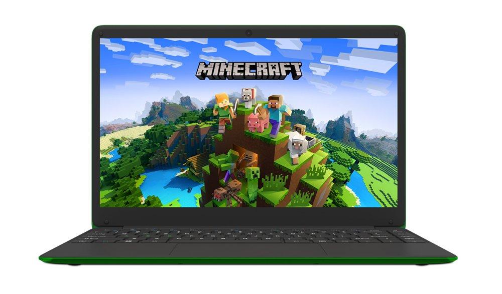 HYPA Minecraft 14in Pentium 4GB 64GB Laptop & Stickers