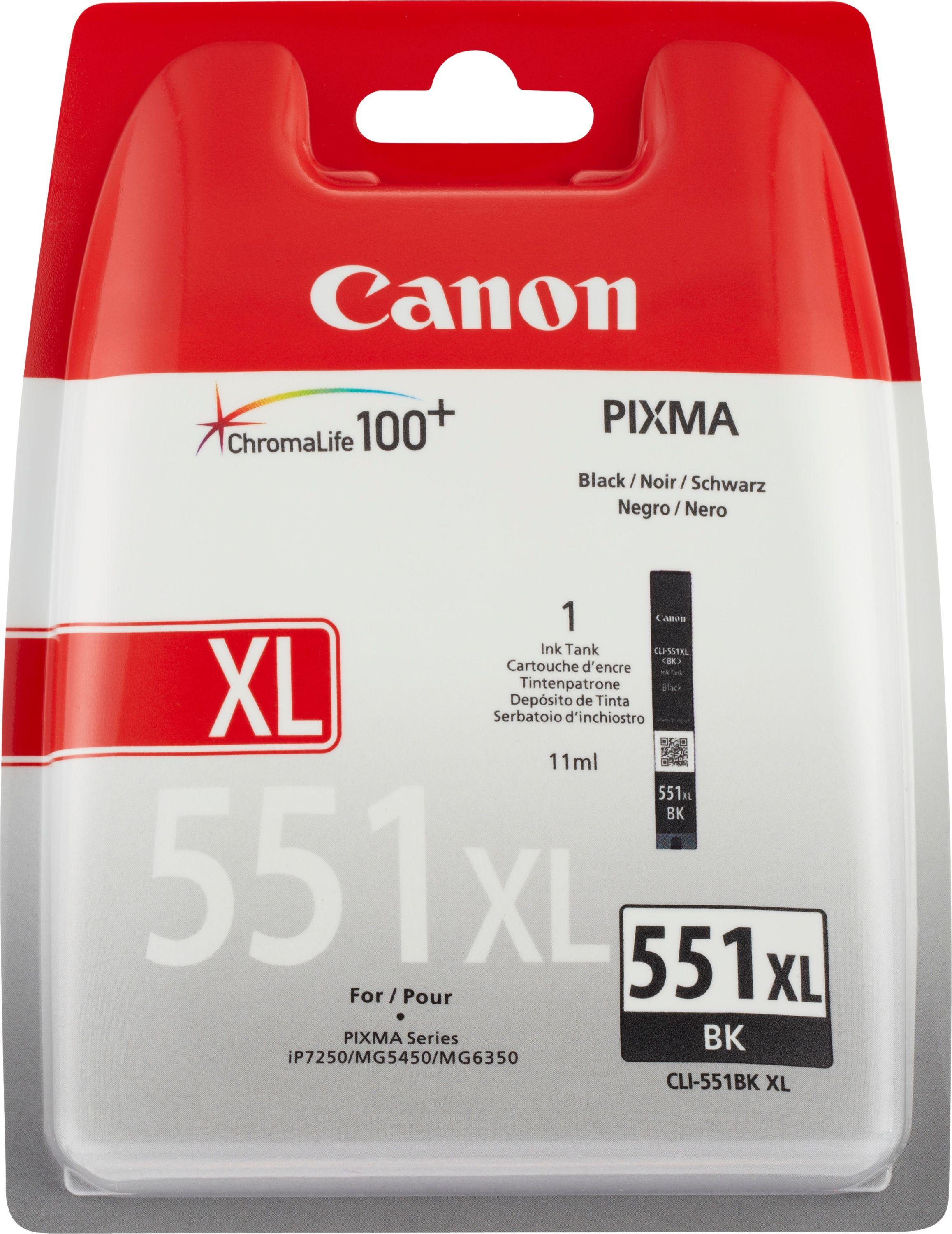 Canon CLl-551 XL Black Ink Cartridge