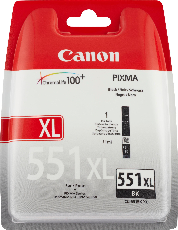 Ean 4960999904948 Canon Ink Cartridge Pgi 551xl Black High Yield Tinta Noir 1 Liter Product Image For Cll
