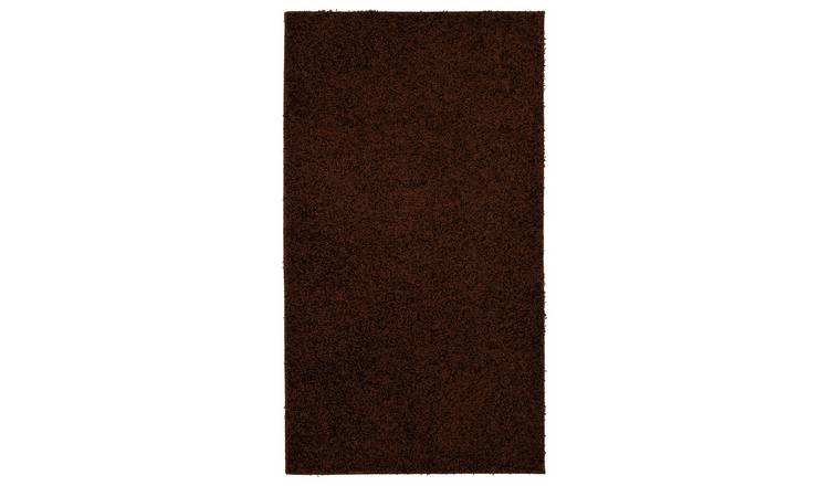 Fiji Machine Washable Rug - 100x150cm - Chocolate