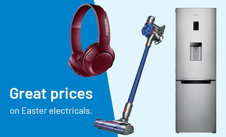 Great prices on Easter electricals.