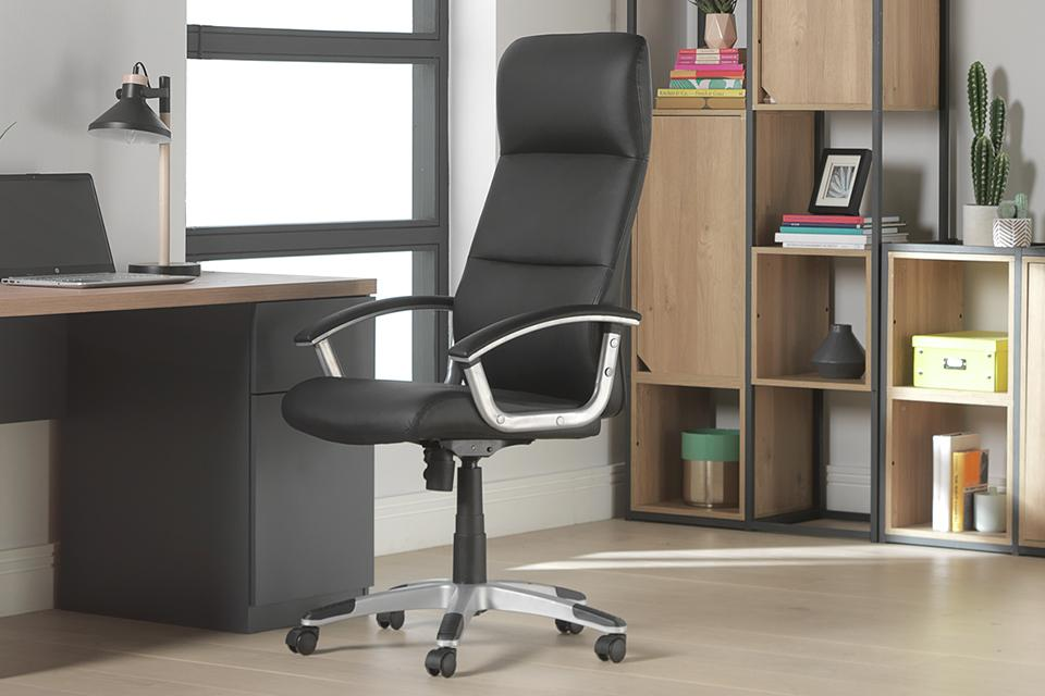 Ergonomic office chairs.